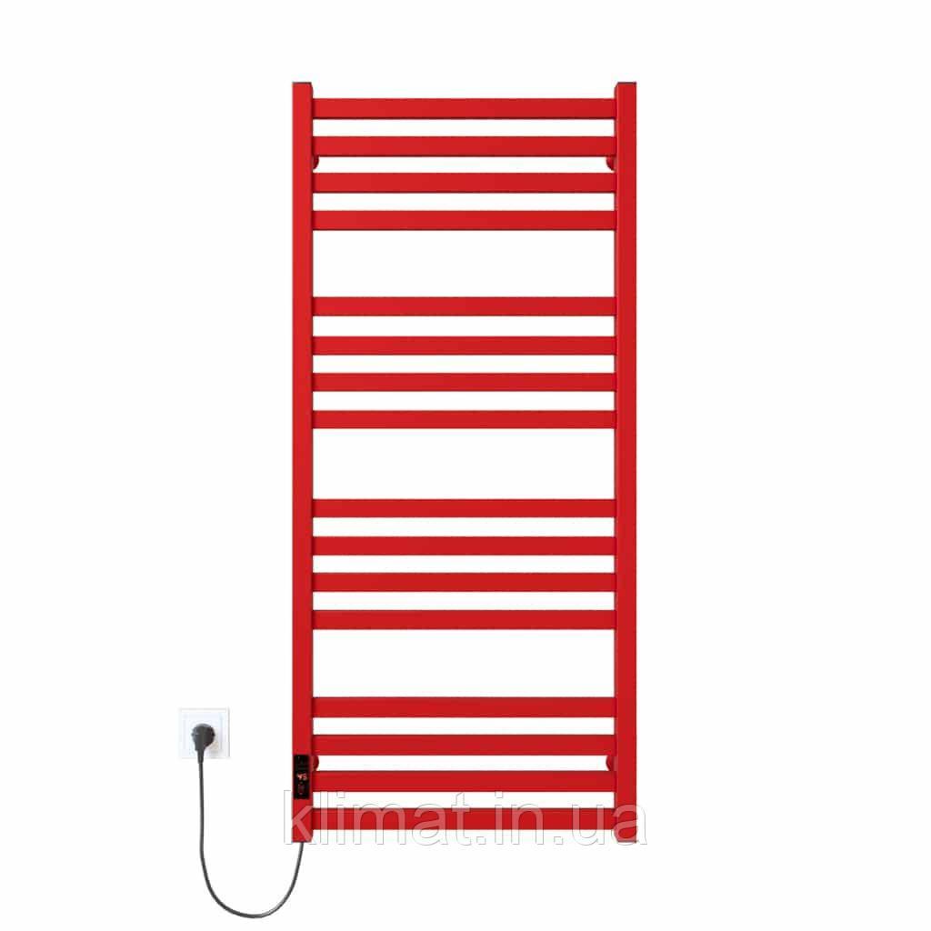Полотенцесушитель Magnus П16 500х1200 Э левое подкл. (красный)