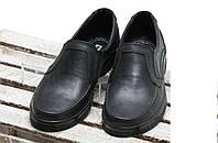Мужские туфли черного цвета из натуральной кожи от производителя, размер 40,44, фото 1
