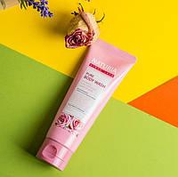 Гель для душа с ароматом розовой воды, лепестками жасмина и розмарином EVAS Pure Body Wash  100 мл