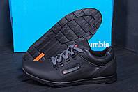 Кожаные мужские демисезонные ботинки Columbia (реплика), фото 1
