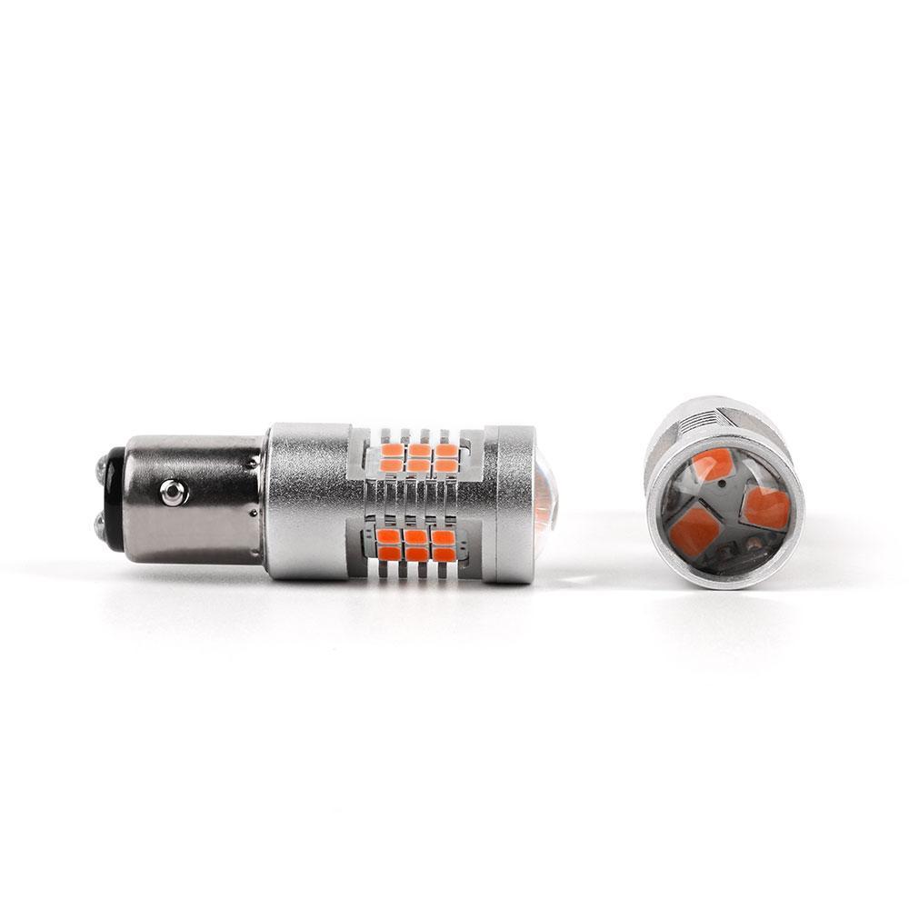 Светодиодные лампы P21/5W Led в габариты Carlamp 4G-Series (4G21/1157Y)