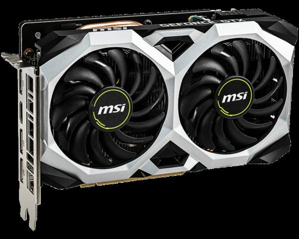 Видеокарта MSI GeForce GTX 1660 VENTUS XS 6GB OC (GeForce GTX 1660 VENTUS XS 6G OC)