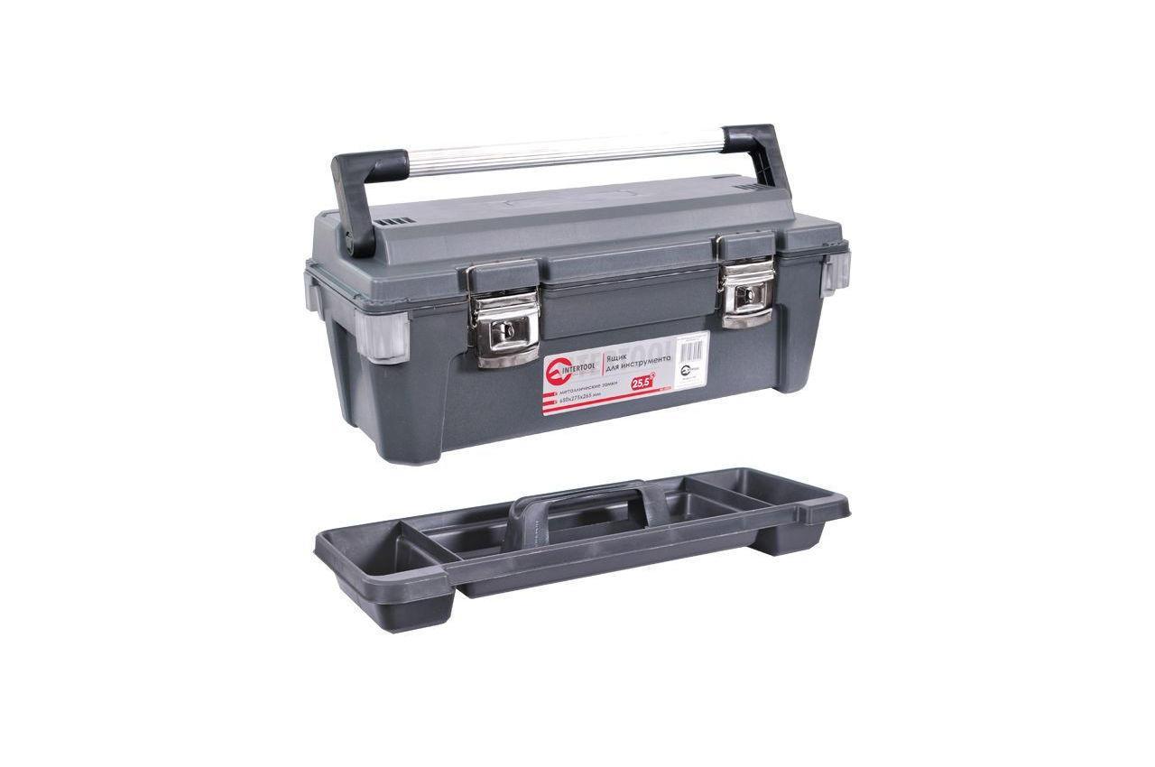 """Ящик для инструмента Intertool - 25,5"""" BX-6025"""