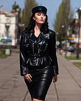 Куртка косуха с баской, фото 1