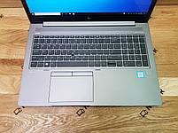 Ноутбук HP ZBook 15u G5 i5-8350u/8Gb/256 SSD/FullHD IPS Toch(НОВИЙ), фото 2