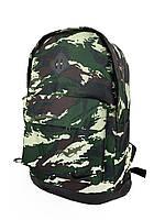 Рюкзак городской мужской, женский, для ноутбука Nike (Найк) камуфляж темный