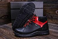 Зимние мужские ботинки черного цвета, фото 1