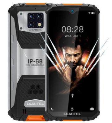 Смартфон защищенный с большим дисплеем и хорошей мощной батареей на 2 сим карты OUKITEL WP6 4/128Gb orange