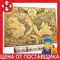 Скретч карта мира, My Map Special Edition, подарок путешественнику, ENG, фото 1