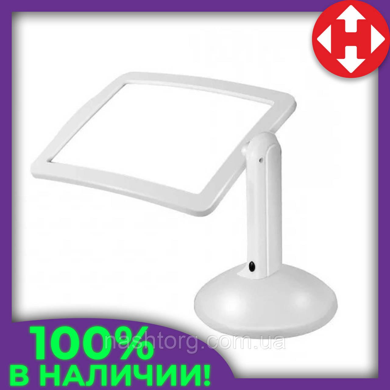 Увеличительная лупа с подсветкой на штативе, Brighter Viewer, увеличительное стекло с подсветкой