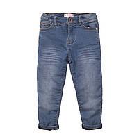 Детские демисезонные джинсы для девочек 1-8 лет Minoti 74-80 см