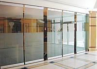 Офисные перегородки, широкий ассортимент стационарных, мобильных, раздвижных