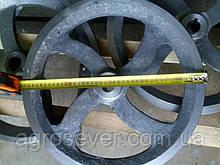 Шків діаметр 410 мм, 2 струмка профіль