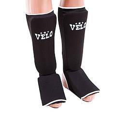 Защита ноги черная Velo, х/б, эластан, размер L