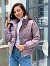 """Красивая модная теплая женская куртка """"Lizbeth"""", фото 6"""