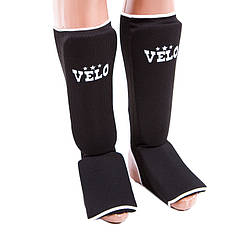 Защита ноги черная Velo, х/б, эластан, размер XL