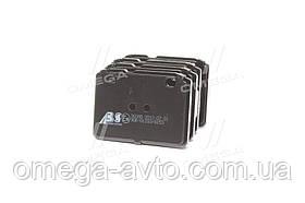 Колодка гальмівний. диск. ВАЗ 2101-07 перед. (пр-во ABS) 36080