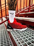 Чоловічі кросівки Nike LeBron 16 Red White/Red/Black, фото 9