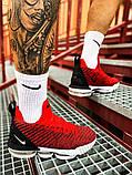 Чоловічі кросівки Nike LeBron 16 Red White/Red/Black, фото 3