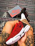 Чоловічі кросівки Nike LeBron 16 Red White/Red/Black, фото 5