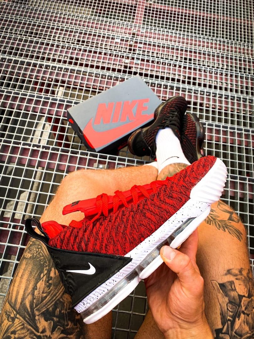 Чоловічі кросівки Nike LeBron 16 Red White/Red/Black