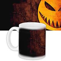 Кружка на Halloween Тыква 330 мл (KR_HAL012)