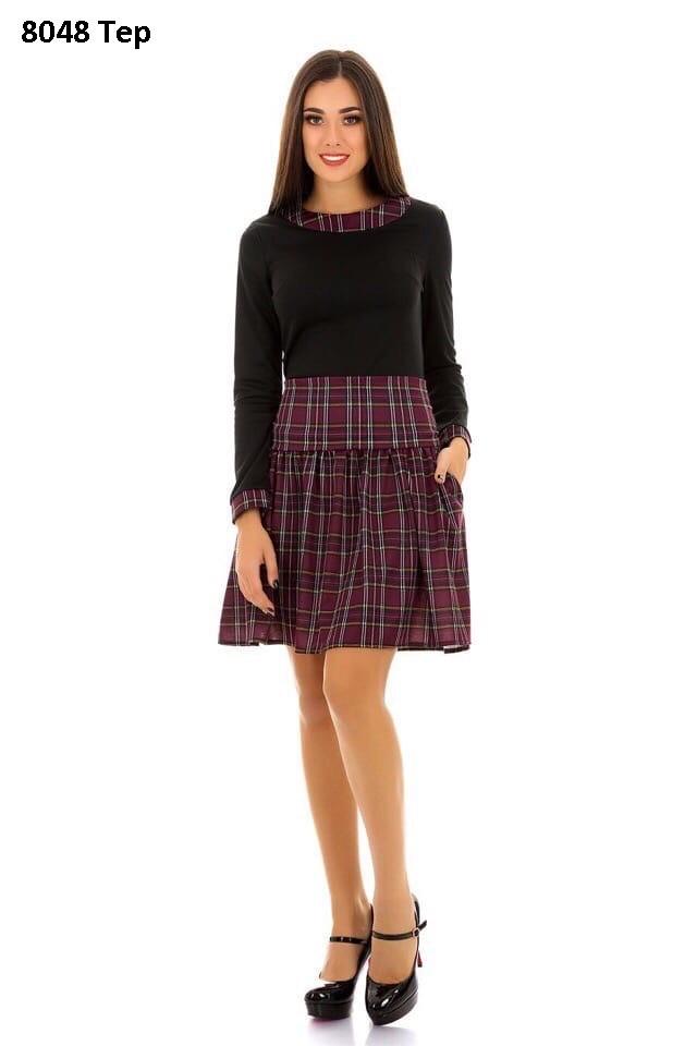 Стильное женское платье 8048 Тер
