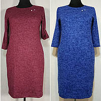 Платье женское большого размера 62 теплое из ангоры (54-62) батал