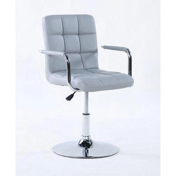 Парикмахерское кресло косметологическое косметическое крісло косметичне перукарське Hoker серое