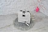 Сумка-рюкзак Компакт городская белая женская, фото 5