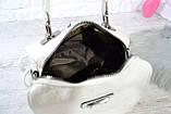 Сумка-рюкзак Компакт городская белая женская, фото 10