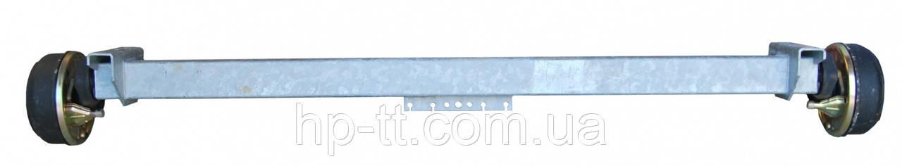 Ось торсионная с тормозом SCHLEGL SB 10 1000 кг ступица 5х112 1500мм 101739
