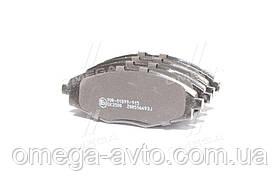 Колодки тормозные DAEWOO LANOS 1.5, MATIZ передние (пр-во LPR) 05P693