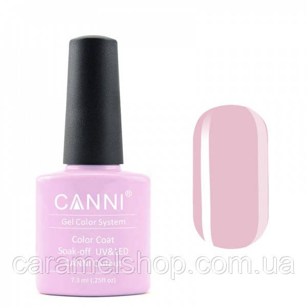 Гель-лак CANNI 040 пастельный розово-фиолетовый, 7,3 ml