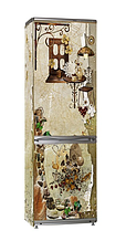 Наклейка на холодильник  Вінілова плівка Німеччина Кава