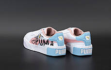 Жіночі кросівки Puma Cali. Pink. ТОП репліка ААА класу., фото 2