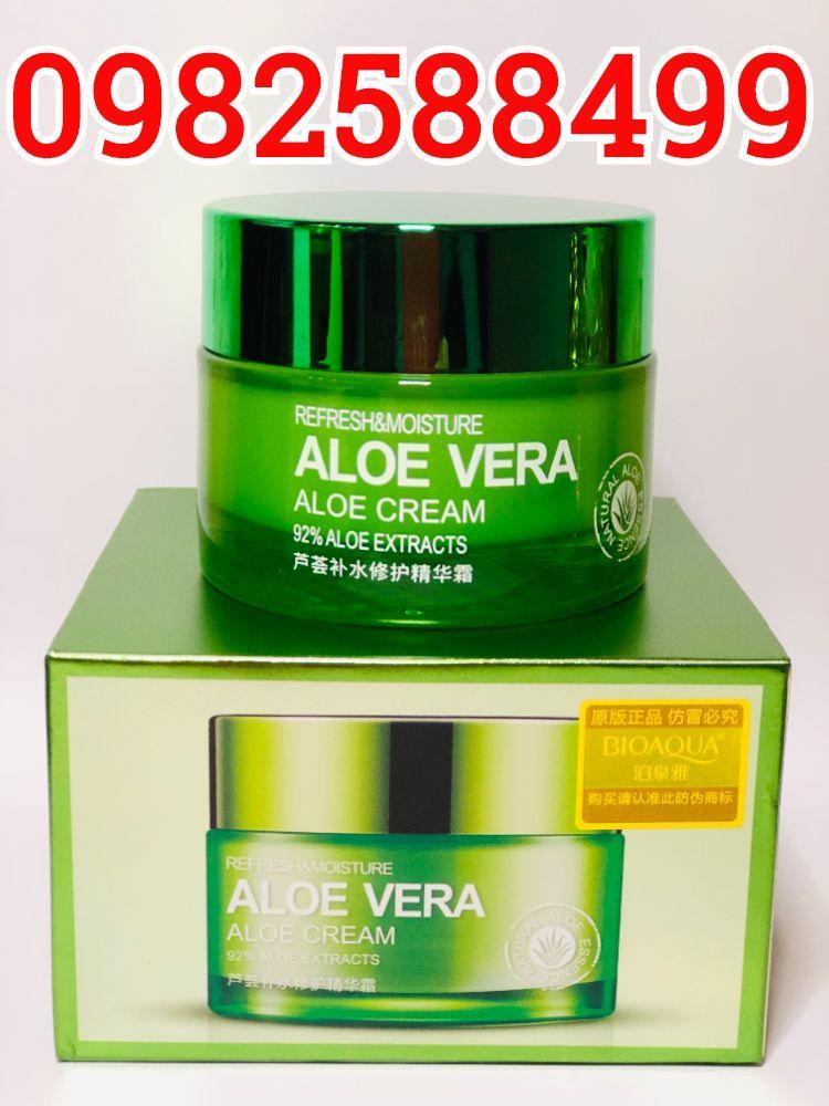 Увлажняющий, матирующий крем-гель для лица и шеи с экстрактом алоэ 50 мл