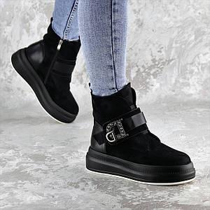 Женские зимние ботинки Fashion Marty 1344 36 размер 23 см Черный