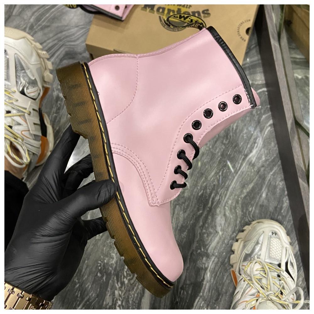 Женские ботинки Dr. Martens 1460 Pink, ботинки доктор мартенс, жіночі черевики Dr Martens, ботінки мартінс
