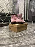 Женские ботинки Dr. Martens 1460 Pink, ботинки доктор мартенс, жіночі черевики Dr Martens, ботінки мартінс, фото 9