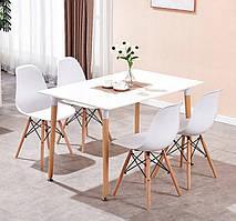 Кухонный комплект стол и 4 стула MUF-ART