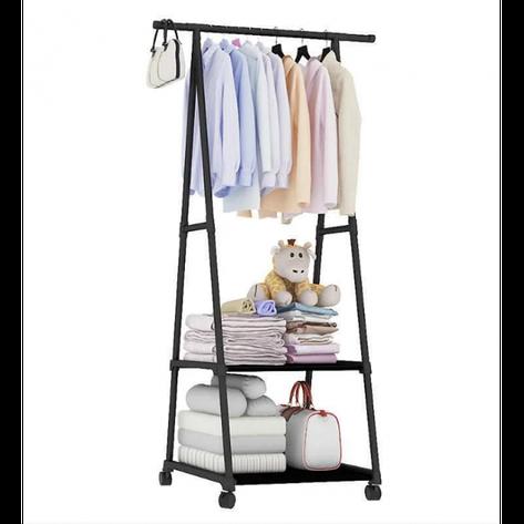 Передвижная напольная вешалка для одежды THE NEW COAT RACK 160х55х42 см, фото 2