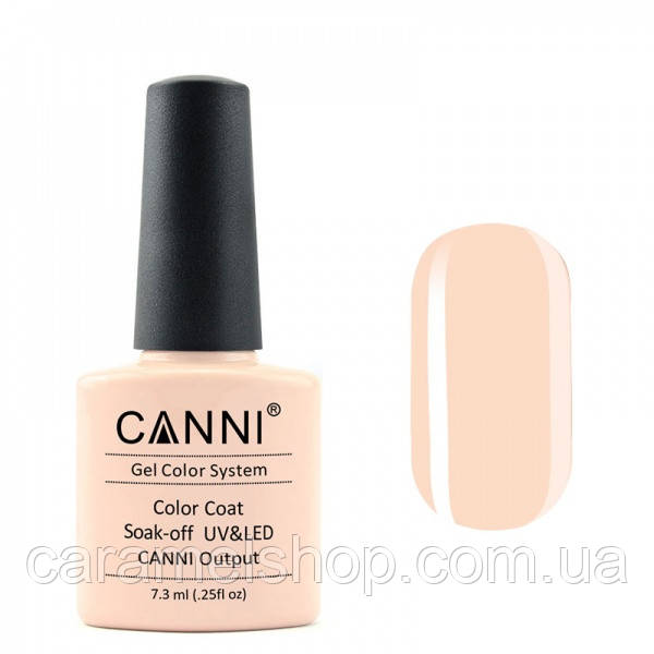 Гель-лак CANNI 060 нежно кремовый, 7,3 ml