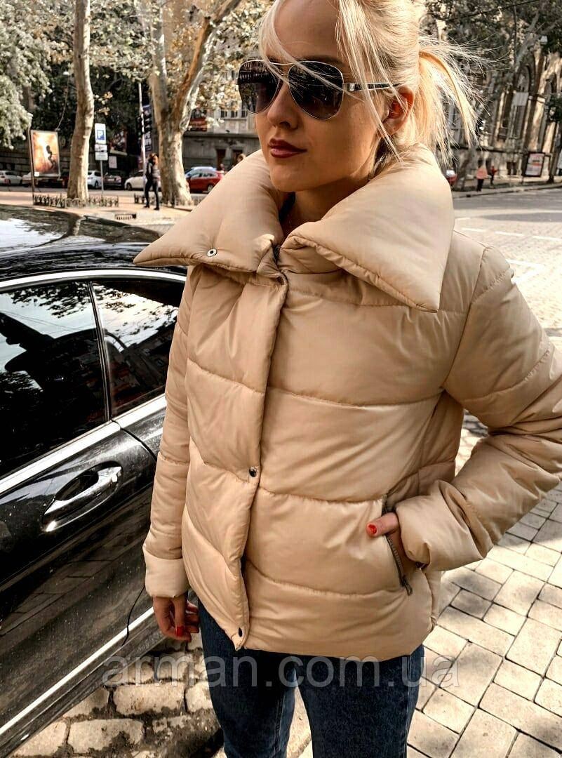 Якісна жіноча тепла куртка! Утеплена силіконом. Розміри: 42, 44, 46