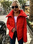 Якісна жіноча тепла куртка! Утеплена силіконом. Розміри: 42, 44, 46, фото 2