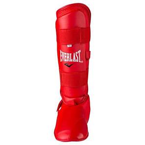 Защита для ног разбирающаяся (голень+стопа ) PU Everlast , красная, размер L, фото 2