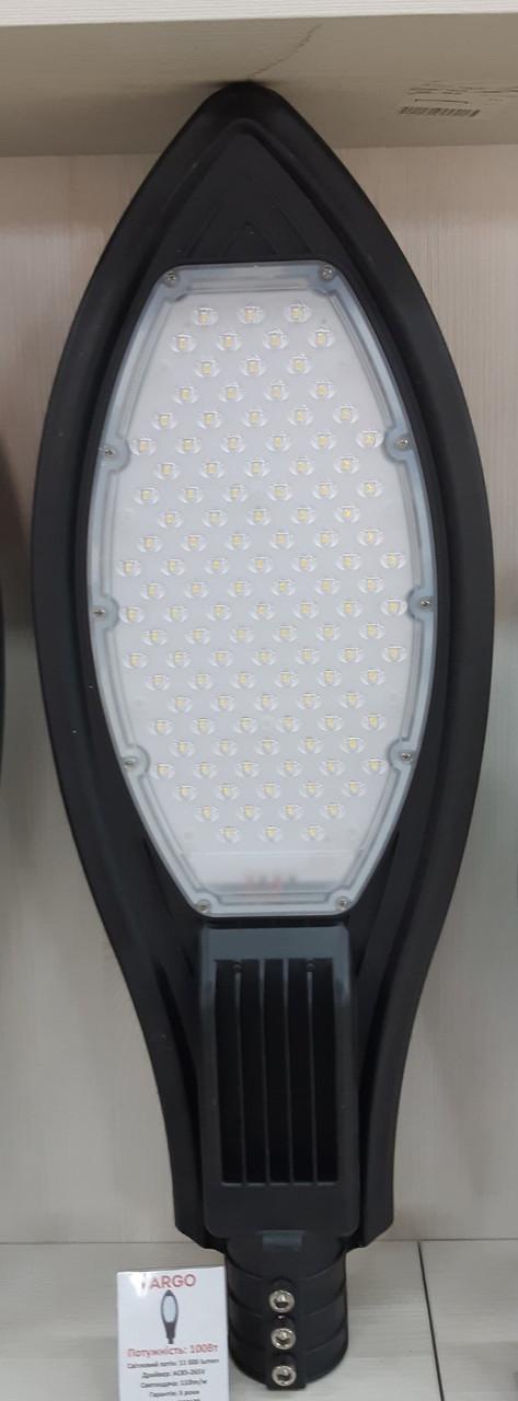 100W 6500K LED вуличний світильник на сонячній батареї VARGO SMD OSRAM 110LM/W EMC