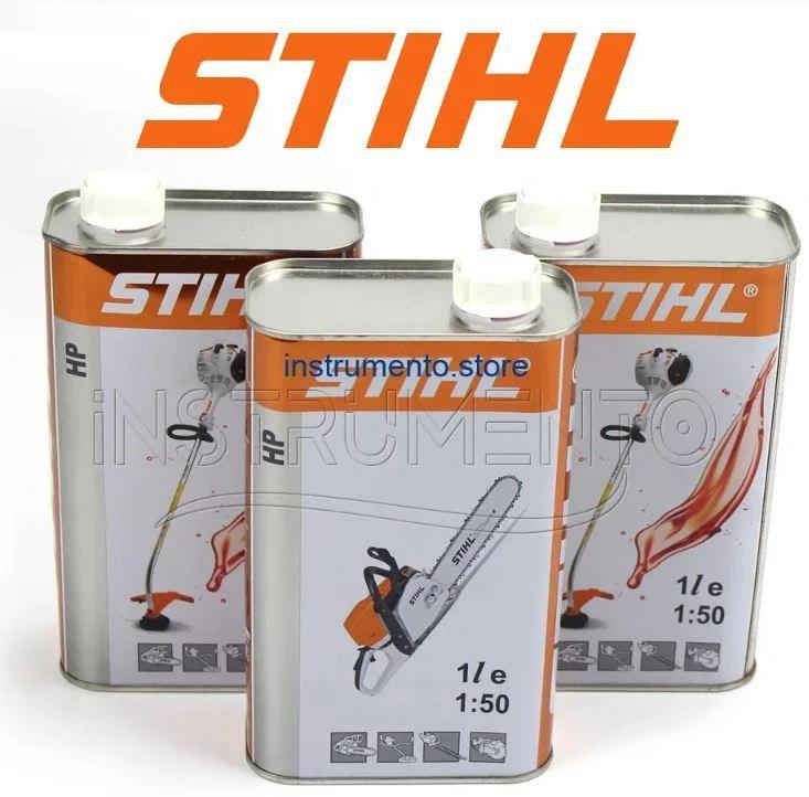 Оригинальное моторное масло Stihl (1л) для 2-х тактных двигателей