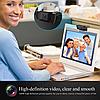 Вебкамера 8 MP 1080р + микрофон. Качественная картинка, фокус, регулировка., фото 3