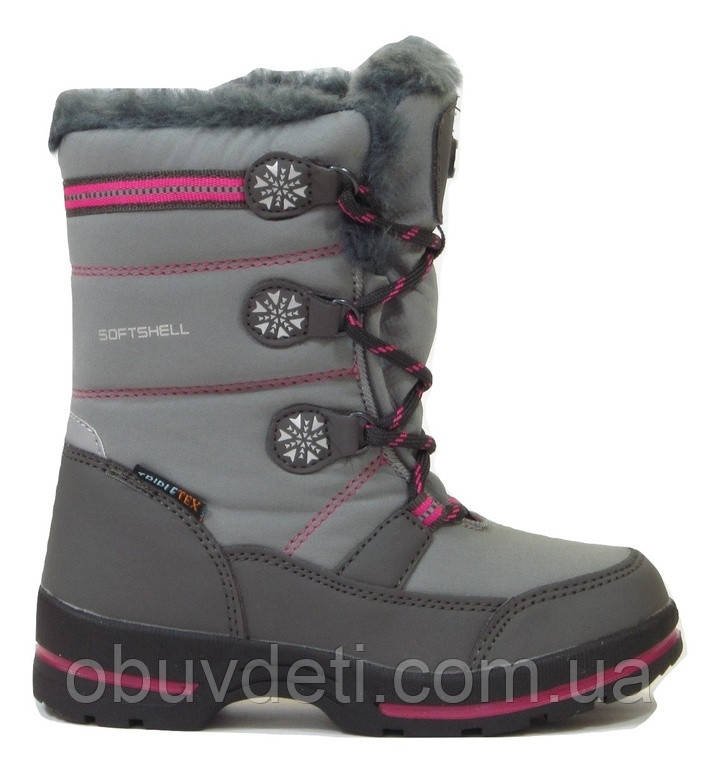 Термо чобітки для дівчинки American Club 28 р-р - 18.7 см